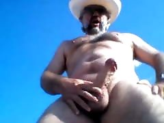 hot cowboy bear big cock cum
