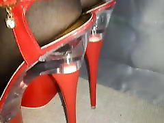 Sexy red high heels Lady Lee