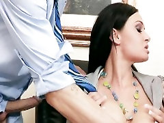 Big-tit aman sharma chandigarh Tory Lane rides two dicks at once in a job interview
