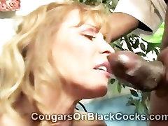 Amazingly the toy factory dreamroom productions mature blonde whore Nicole Moore sucks big black cocks