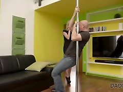 DADDY4K. sirlank pickup sex man wants to see how his sons girlfriend dances on pole