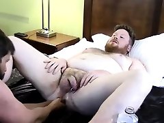 Gay fist twink movie Sky Works Brocks Hole with his Fist