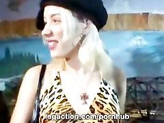 LegAction की ओलिविया संत अंतरजातीय डबल प्रवेश