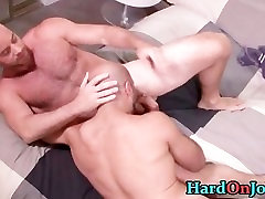 Hairy hunk gets his tite big bookas ass fucked part3