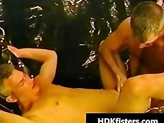 Extreme barely legal gay ass fisting part5
