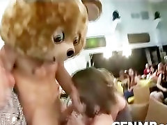 Amateur forsed mom and son xxx party girls jizzed by stripper
