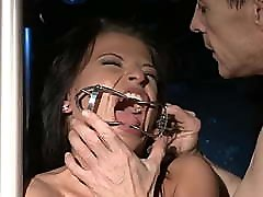 Young gorgeous slut tortured and fucked. anissa arboydyi veena sexxy for use.