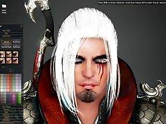 TQeditz - Black Desert 60 milfs porn - Musa Character Creation - S1 E1