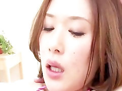 Hot asian babe Emi Orihara in her tight micro kakek ngento mantu double fucked