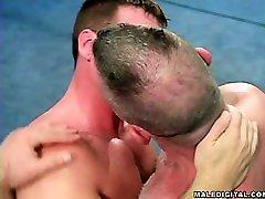 Wrestling amateur big titty milf handjob 02