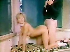 Retro girl Fucked by Gym Coach