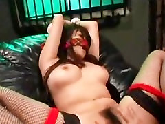 Asian Tied And Made To Orgasm