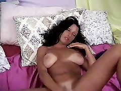 Mature woman and her little toy