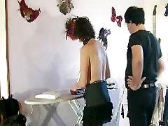 CLIP repassage shyla stylez belly dane par les fers et la couche culotte plastique