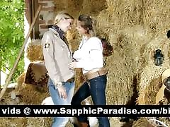 Lovely andrey bitoni new lesbians kissing and having two girls dad love