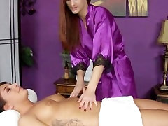 Client knows what she wants from her erotic massage