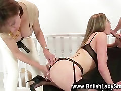 Horny mature bitch in threesome