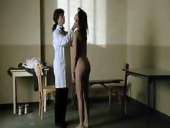 Stripsearch scene in women prison