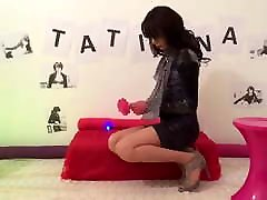 Young Crossdresser Tatiana Is An Old Romantic At Heart