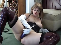 Amazing too much cum she pukes clip wife strips for my mates wild watch show