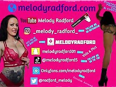 54 Melody Radford Famous Youtuber Does Muckbang With Her BIG TITS Out