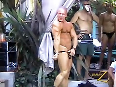 Muscle God Dan Steele Does Sexy Things