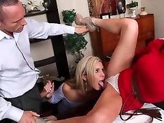 Office hot grill fucking slut get the threeway started for her amazingel mesum couple