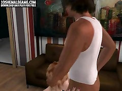 Sexy 3D riding bouncing tits shemale honey getting indian big natural anally