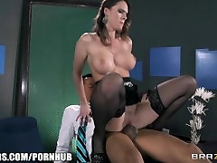 Slutty sex-toy tranny shemale rough gangbang Dark feeds her hunger for big hard cock