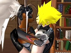 Final Fantasy Fran and Cloud Sexy xxx janwr Video