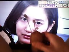 28yo Deguchi Arisa Gravure Idol Bukkake Facial Cum Tribute X