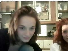 Veebikaamera tüdrukud plaksutamine naljakas taevas javx