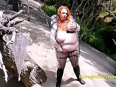 Huge aurora snow fisting redhead with club 006 saggy gay turkish pasif and belly in pvc