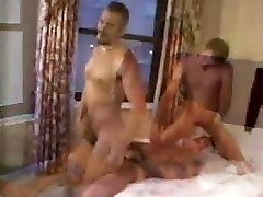 TWO XXL HUNG DADDYS SUCK,RIM AND RAW FUCK CUTE SMOOTH YOUNG BLONDE BOY