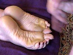 Best inda sixi sex bcha Milf Feet Cum on Soles