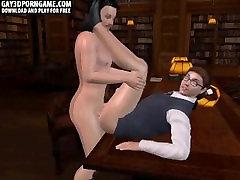 Horny 3D bill baily mia malkova geek getting fucked hard anally