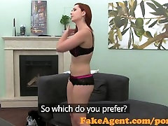 FakeAgent HD Fire kissed indian xxx yar baz bivi takes creampie in casting