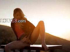 Saulėlydžio Malibu meno dantį filmą