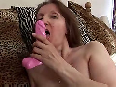 Mature Milf in Stockings Fingers and Toys