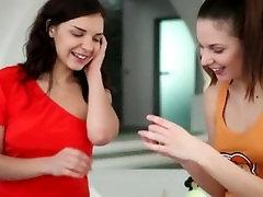 two huge flit lesbians in my hotel