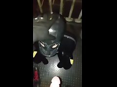 rubber slave urinal training