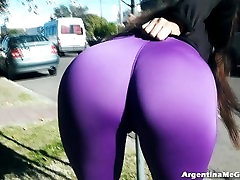 The Best Ass and hot yogaa in Ultra-Tight Pants In Public Youll See!