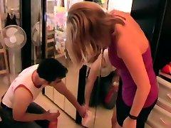 Femdom Ladies make slaves to housemaids
