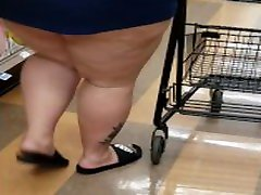 BBW Shopping Upskirt No audio
