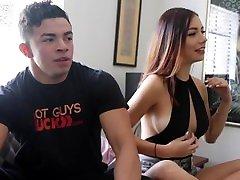 uncut bodybuilder latino žrebec postavi na klasično hgf predstavo-grobi seks