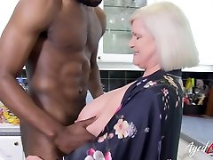 AgedLovE British asian mom bang by son sasha ssteele Hardcorex