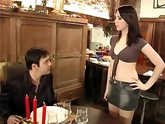 cute french waitress fucks up, gets you tube xxx mallu anty up the ass right then and there