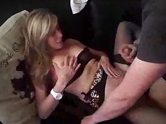 Maried Cougarmilf with young lover in front of cuckold hubby.