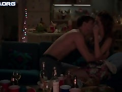 Allison Williams - Dekleta s02e01 HD Topless, Sex Scene