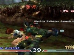 Tekken 4 Tekken Force Miharu 2